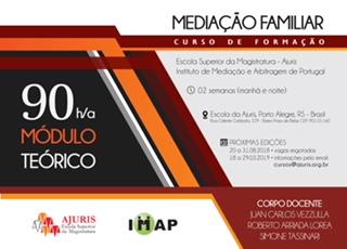 Módulo de Mediação Familiar em parceria com a Ajuris