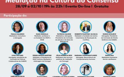 I CONGRESSO LUSO-BRASILEIRO DE MEDIAÇÃO NA CULTURA DO CONSENSO