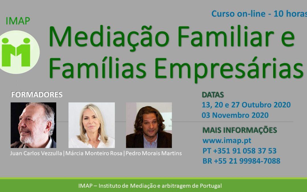 Curso MEDIAÇÃO FAMILIAR E FAMÍLIAS EMPRESÁRIAS