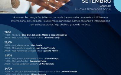 III SEMANA INTERNACIONAL DE MEDIAÇÃO