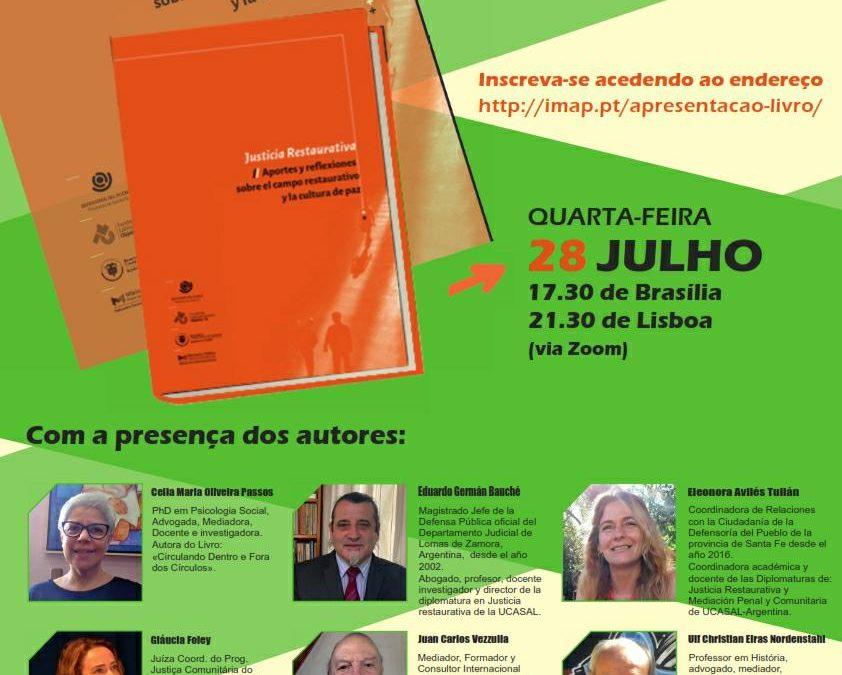 """Apresentação Livro """"Justicia Restaurativa: Aportes y reflexiones sobre el campo restaurativo y la cultura de paz"""""""